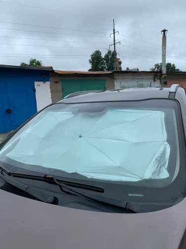 Car umbrella photo review
