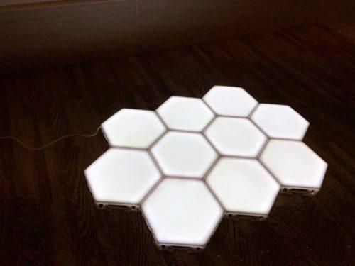 Set di sei luci LED magnetiche HOME photo review