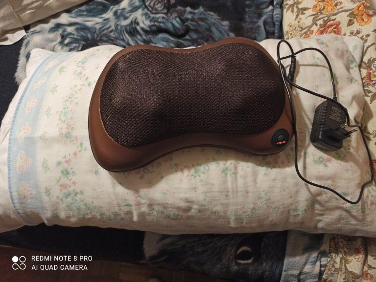 Body massage pillow photo review