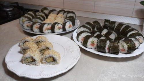 Set di strumenti per la preparazione del sushi SUSHICHEF photo review
