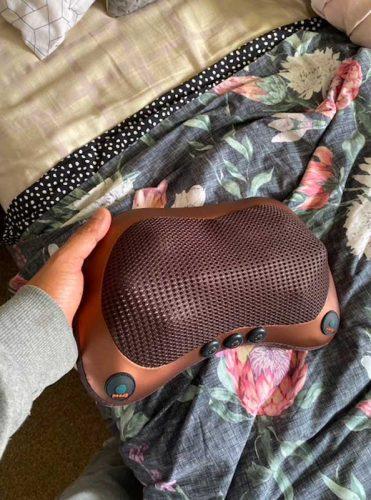 Dispositivo massaggiante termico per alleviare tensione muscolare U-MASSAGER RELAX photo review